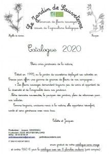 catalogue du jardin de sauveterre